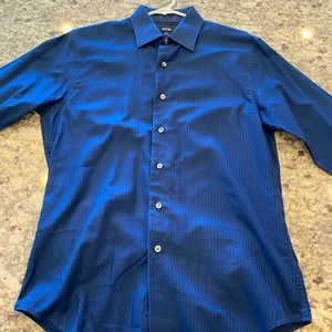 Apt.9 blue dress shirt size Small
